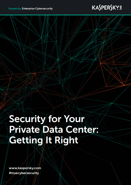 Security for Your Private Data Center - Getting It Right