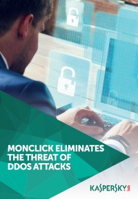 MONCLICK ELIMINATES THE THREAT OF DDOS ATTACKS