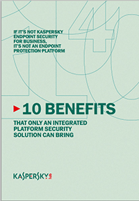 10 Benefits of an Integrated Security Platform
